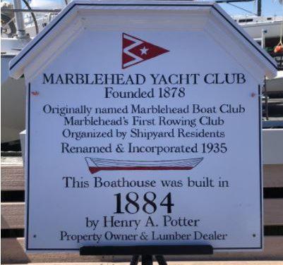 Marblehead Yacht Club Historic Plaque Ceremony