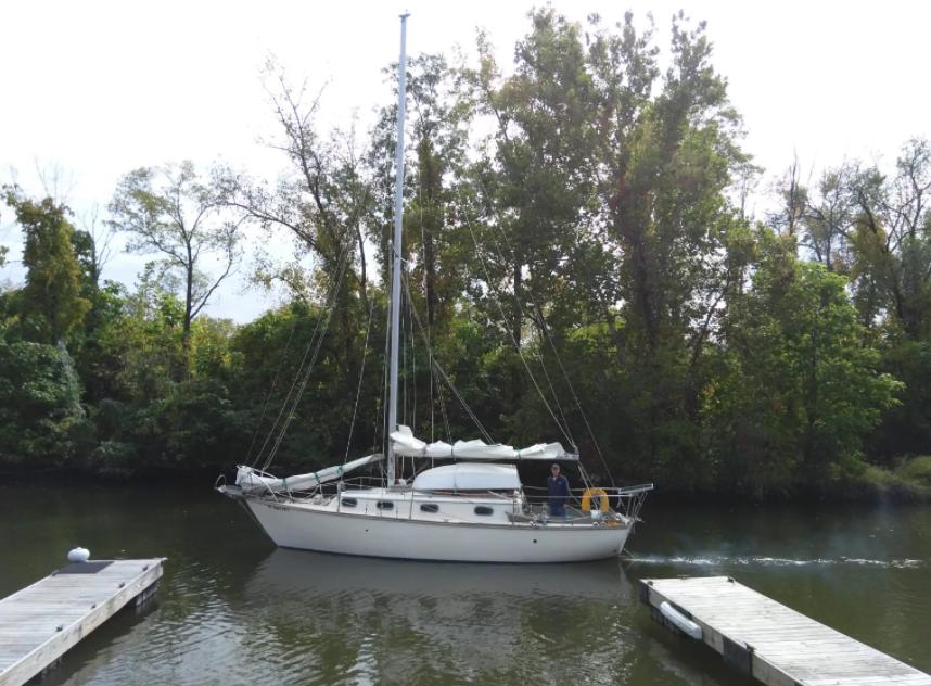 Wayfinder, Cape Dory 28′