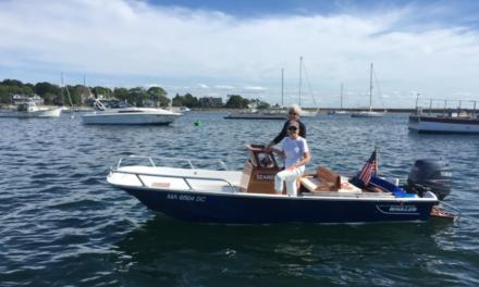 Seaweed, Boston Whaler 17′