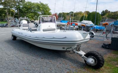 Wheelie Fast, Sea Legs 23.5′